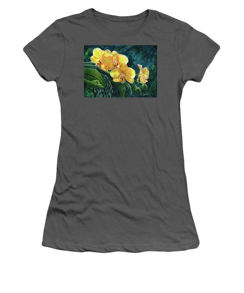 Moth Orchids Women's T-Shirt (Athletic Fit)