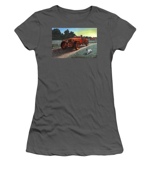 Motor Car Women's T-Shirt (Athletic Fit)