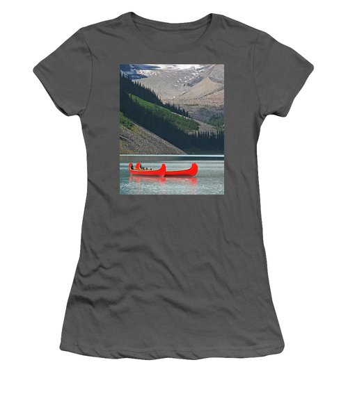 Mountain Canoes Women's T-Shirt (Athletic Fit)