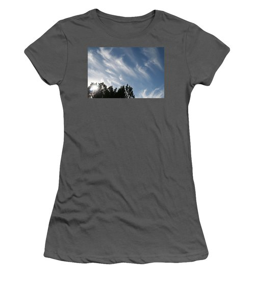 Mountain Sky Women's T-Shirt (Athletic Fit)