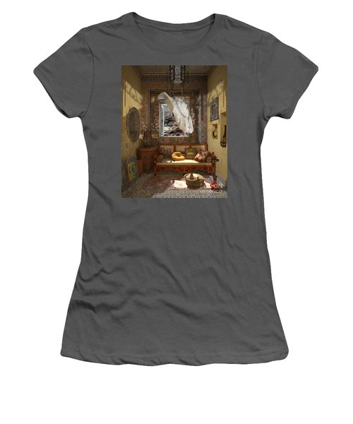 My Art In The Interior Decoration - Morocco - Elena Yakubovich Women's T-Shirt (Athletic Fit)