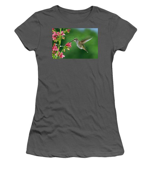 My Favorite Flowers Women's T-Shirt (Athletic Fit)