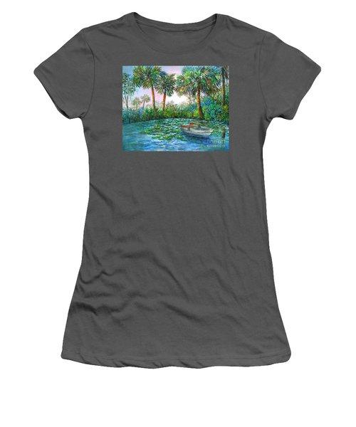 My Little Boat Women's T-Shirt (Athletic Fit)