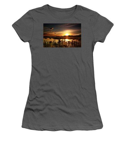 My Sandy Floors  Women's T-Shirt (Athletic Fit)