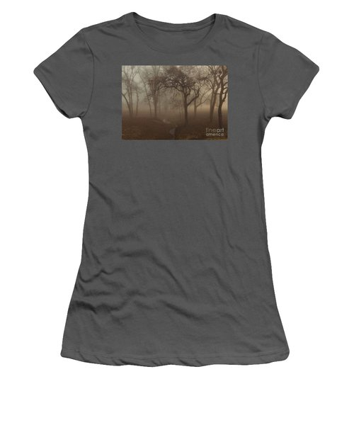 Mystic Forest 004 Women's T-Shirt (Athletic Fit)