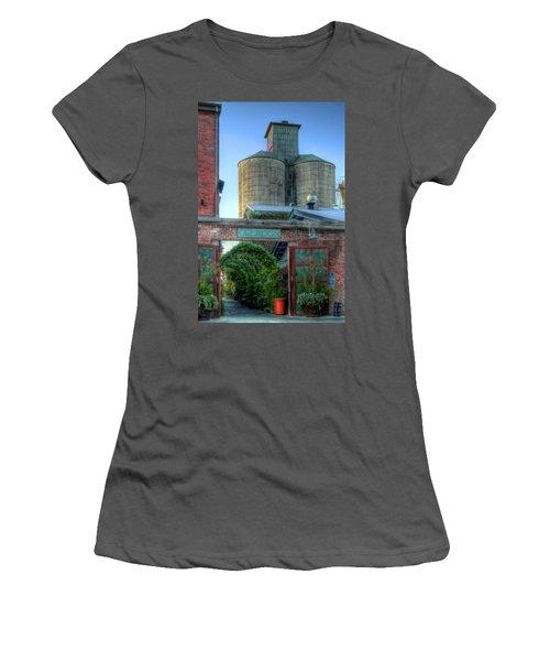 Napa Mill Women's T-Shirt (Junior Cut) by Bill Gallagher