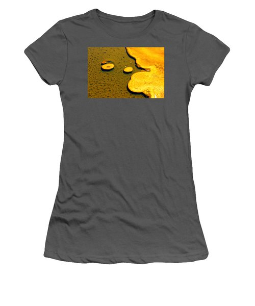 Natural Abstract Women's T-Shirt (Athletic Fit)