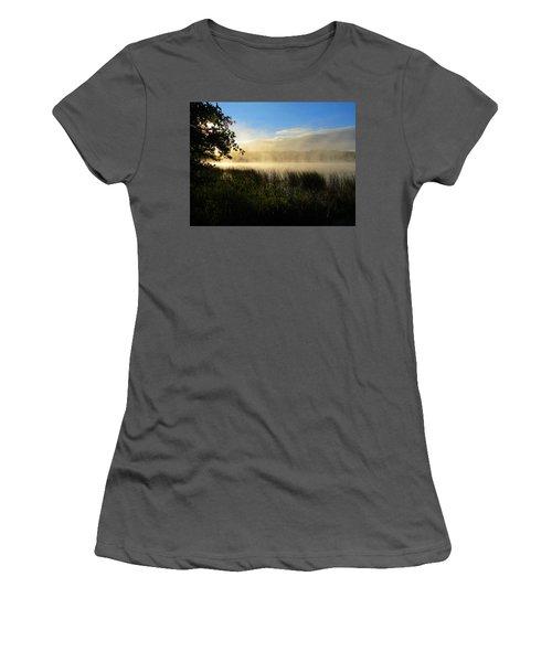 Women's T-Shirt (Junior Cut) featuring the photograph Nature's Way by Dianne Cowen