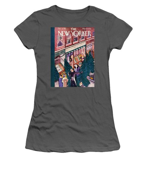 New Yorker December 21 1935 Women's T-Shirt (Athletic Fit)