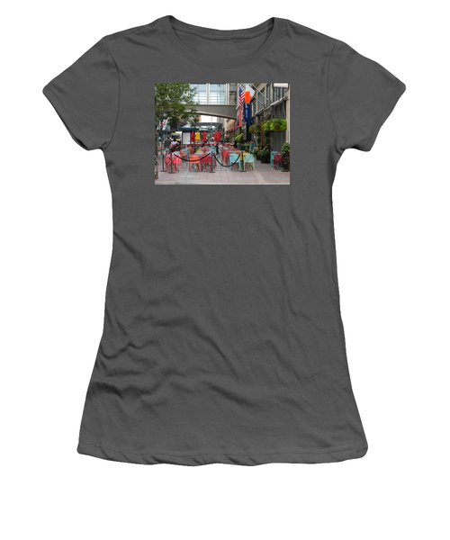 Nicollet Ave. Restaurant 1 Minneapolis Women's T-Shirt (Athletic Fit)