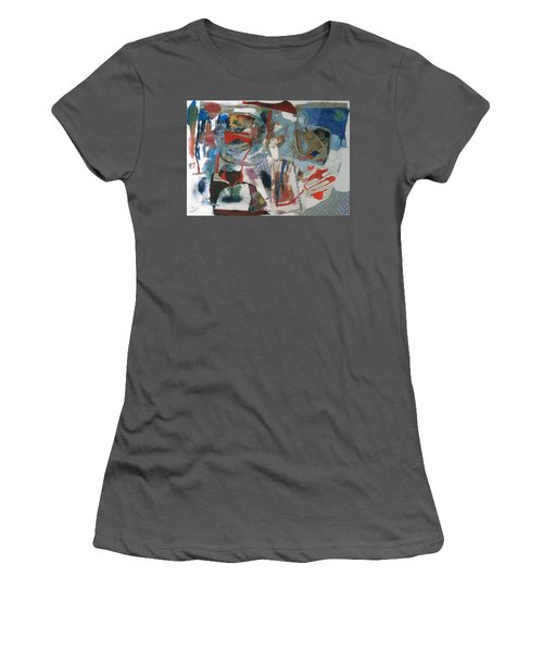 No 3 In A Series Of Assemblages Women's T-Shirt (Athletic Fit)