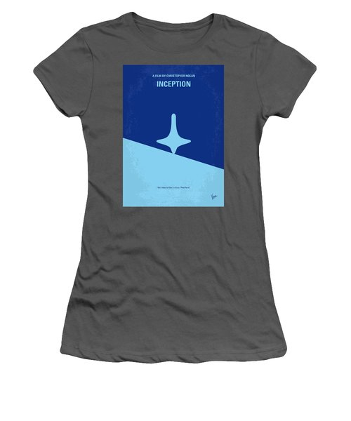 No240 My Inception Minimal Movie Poster Women's T-Shirt (Athletic Fit)