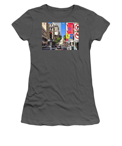Nob Hill - San Francisco Women's T-Shirt (Athletic Fit)