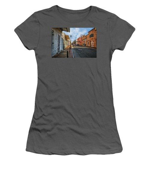 Nola French Quarter Women's T-Shirt (Junior Cut) by Sennie Pierson