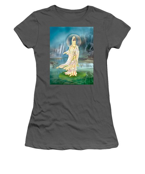 Non-dual Kuan Yin Women's T-Shirt (Athletic Fit)