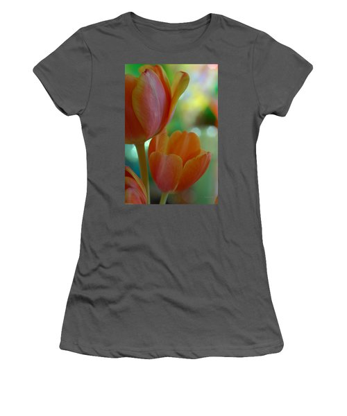 Nothing As Sweet As Your Tulips Women's T-Shirt (Athletic Fit)