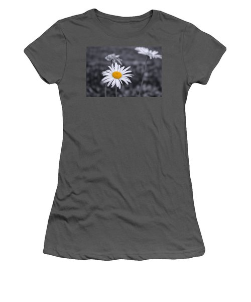 November Daisy Women's T-Shirt (Junior Cut) by Brian Caldwell