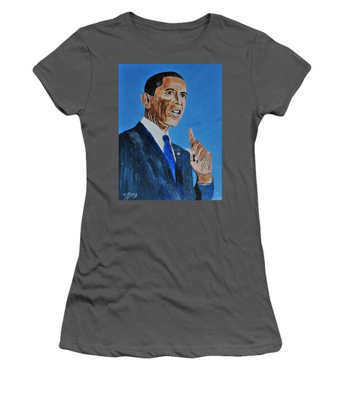 Obama Women's T-Shirt (Athletic Fit)