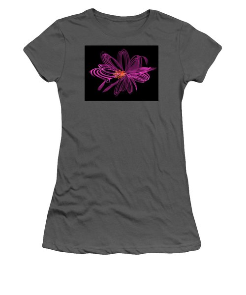 Oblong Loops Women's T-Shirt (Athletic Fit)