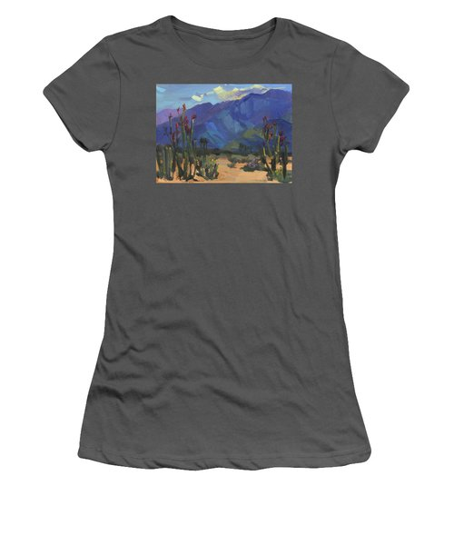 Ocotillos At Smoke Tree Ranch Women's T-Shirt (Athletic Fit)