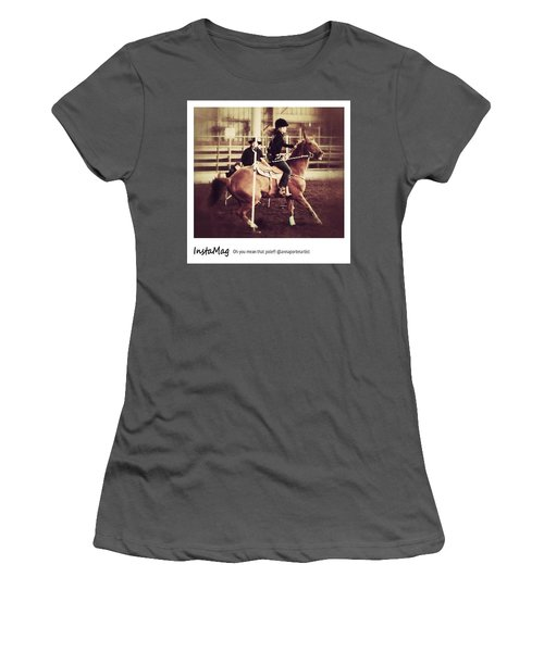 Oh You Mean That Pole! An Women's T-Shirt (Junior Cut)