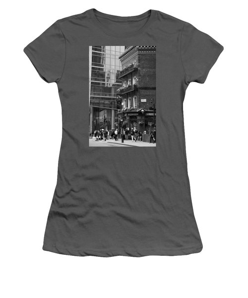 Women's T-Shirt (Junior Cut) featuring the photograph Old And New by Chevy Fleet