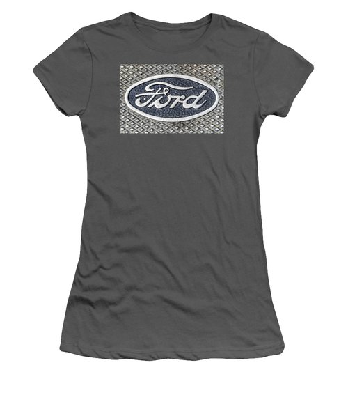 Old Ford Symbol Women's T-Shirt (Athletic Fit)