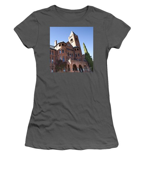 Women's T-Shirt (Junior Cut) featuring the photograph Old Preston Castle by David Millenheft
