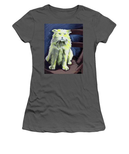 Old World Cat Women's T-Shirt (Athletic Fit)