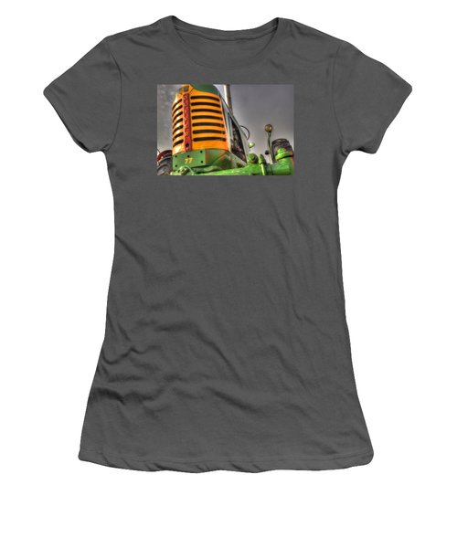 Oliver Tractor Women's T-Shirt (Athletic Fit)