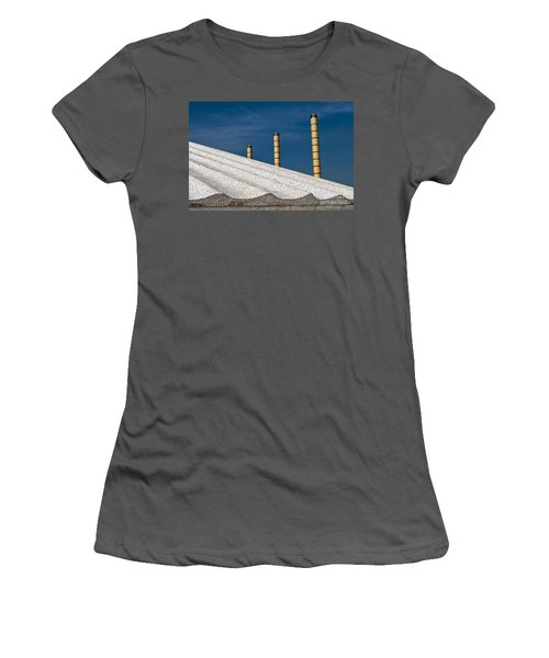 Olympic Columns Women's T-Shirt (Athletic Fit)