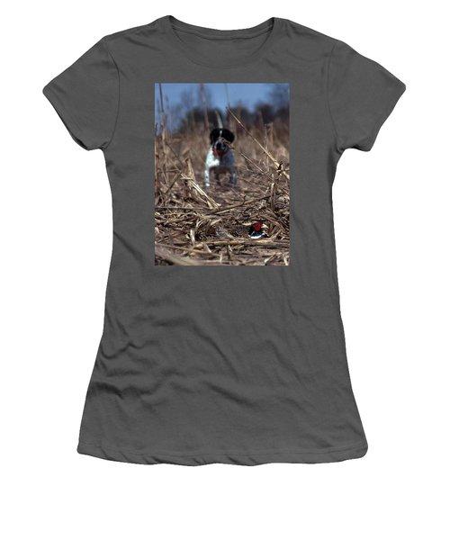 On Point Women's T-Shirt (Junior Cut) by Skip Willits