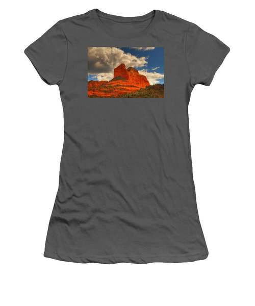 One Sedona Sunset Women's T-Shirt (Athletic Fit)