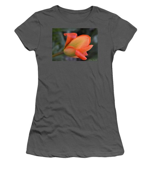 Orange Lady Women's T-Shirt (Athletic Fit)