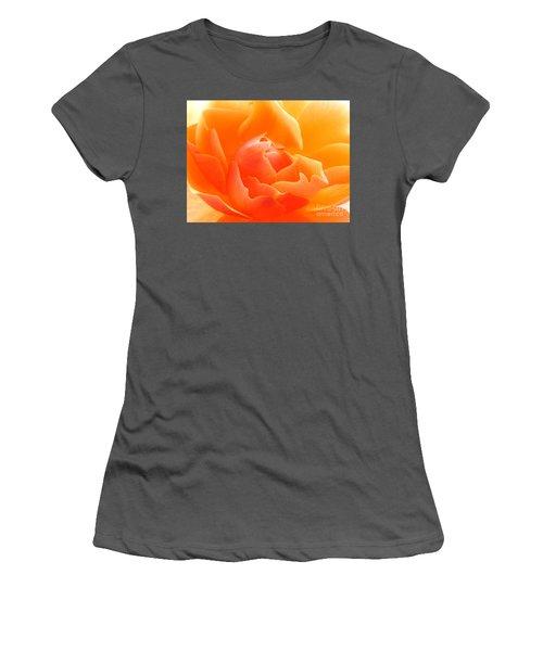 Orange Sherbet Women's T-Shirt (Athletic Fit)