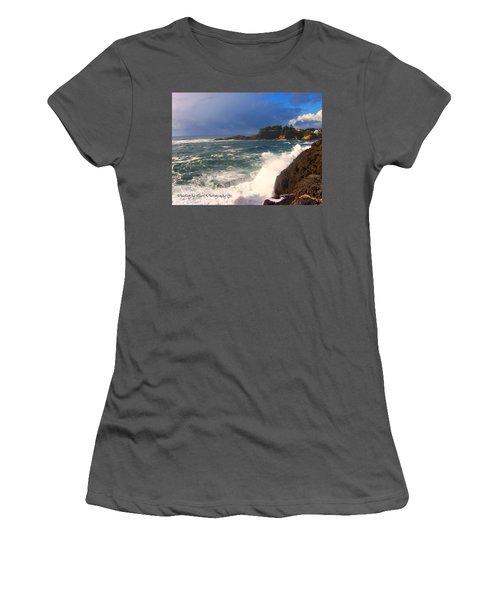 Oregon Coast 9 Women's T-Shirt (Athletic Fit)