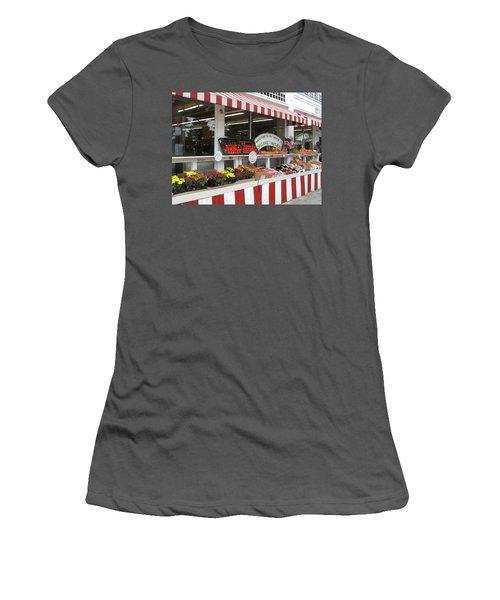 Organic And Natural Women's T-Shirt (Junior Cut) by Barbara McDevitt