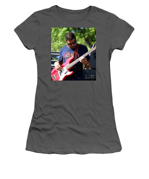 Oteil Burbridge Women's T-Shirt (Junior Cut) by Angela Murray