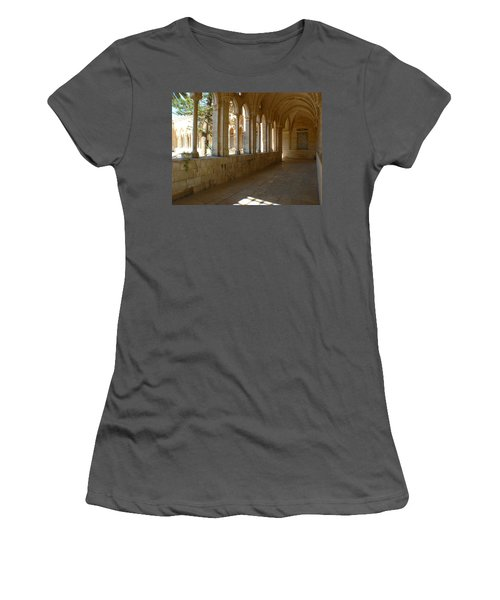 Our Father Of The World Women's T-Shirt (Athletic Fit)