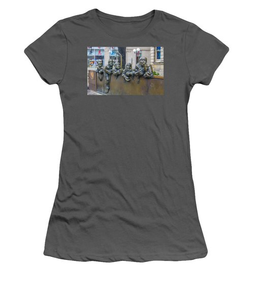 Our Game Women's T-Shirt (Junior Cut) by Guy Whiteley