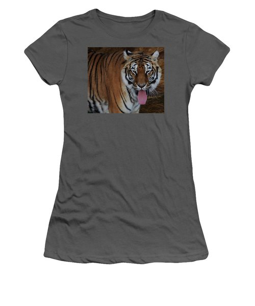 Out Of Africa  Tiger 2 Women's T-Shirt (Athletic Fit)