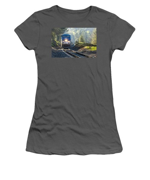 Out Of The Mist Women's T-Shirt (Athletic Fit)