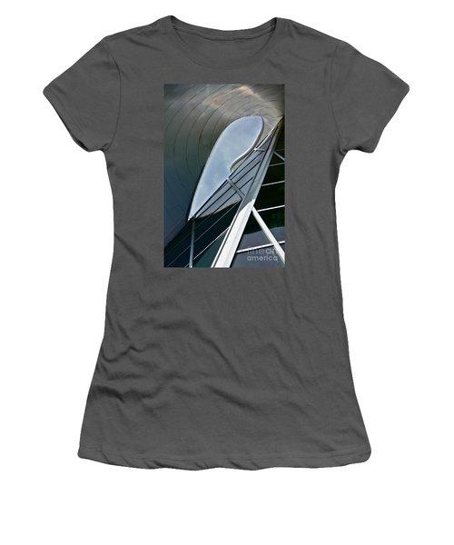 Outer Space Women's T-Shirt (Junior Cut) by Linda Bianic