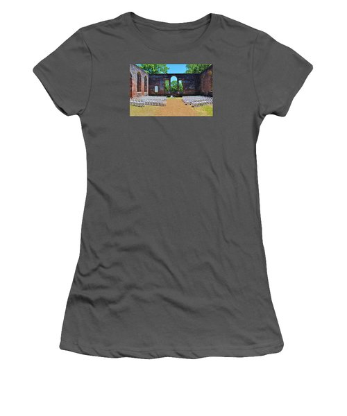 Outside Wedding Women's T-Shirt (Athletic Fit)