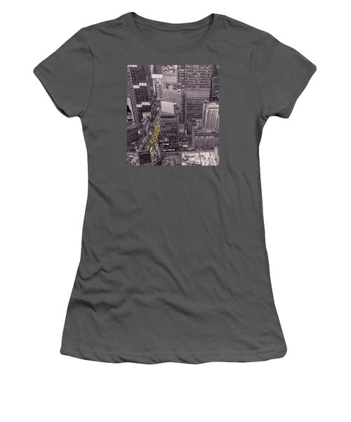 Overwhelm Me New York  Women's T-Shirt (Athletic Fit)