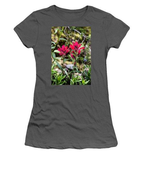 Paintbrush Women's T-Shirt (Athletic Fit)