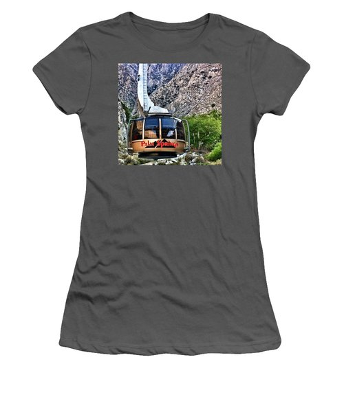 Palm Springs Tram 2 Women's T-Shirt (Athletic Fit)