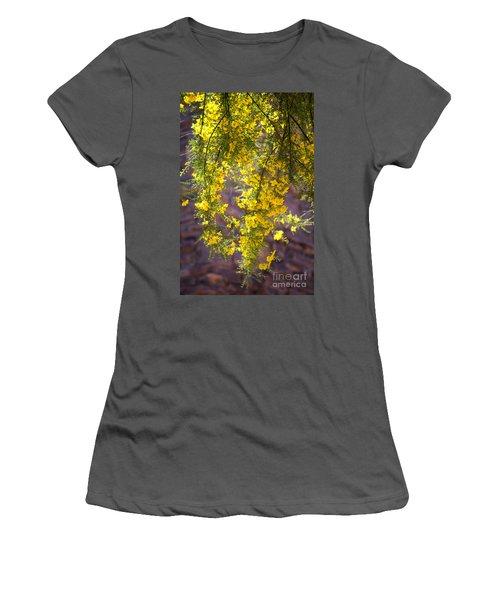 Palo Verde Blossoms Women's T-Shirt (Athletic Fit)