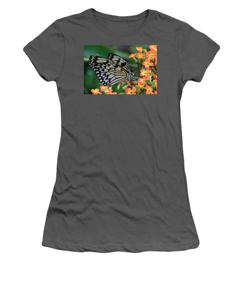 Paper Kite Butterfly Women's T-Shirt (Athletic Fit)