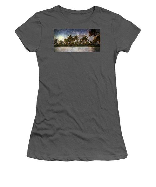Paradise Found Women's T-Shirt (Athletic Fit)